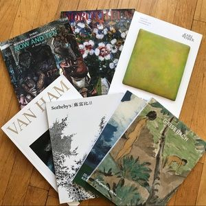 Other - Bundle of 8 new modern art catalogs